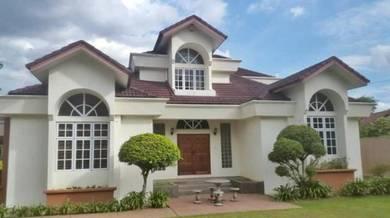 Renovated bungalow at Country Heights Kajang
