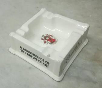 Antik becks ashtray lama