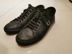 Fred Perry Black leather sneaker