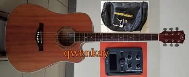Acoustic-Electric Guitar 41Inch A&K #330-E