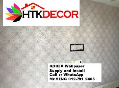 Sale and installation of Wall paper 34JK