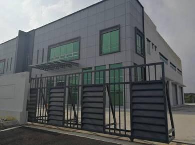 INNO PARC, Senai, 1.5 storey semi detached factory (24 hours security)