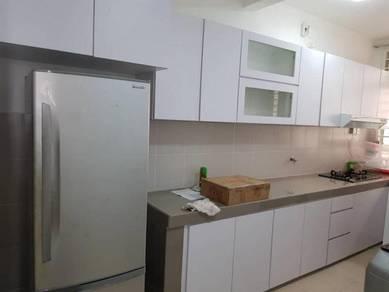 LARAI Presint 6 Putrajaya - Kitchen Cabinet, Fridge, Aircond