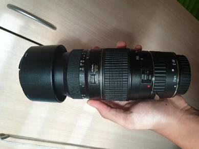 Tamron AF 70-300mm f/4-5.6 Tele-macro lense