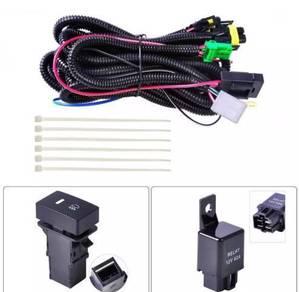 H11 fog light wiring harness socket