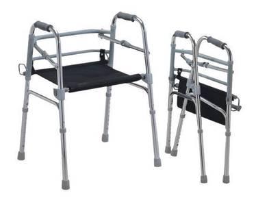 OKU 1 Malaysia Walker Seat alat bantu jalan kerusi
