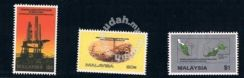 Mint Stamp Production Petroleum in Malaysia 1985