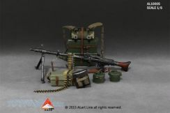 1/6 MG34 Machine Gun Suits From Alert Line