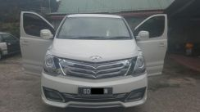 Hyundai Starex for rent