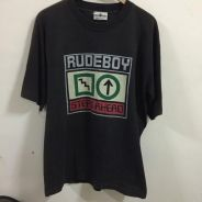 Vintage Rude Boy Shirt Made In USA Size L