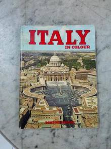 TExp Buku Italy In Colour Book Lama Vintage Old