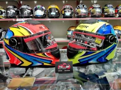 Helmet MHR Daijiro Fullface with dual visor