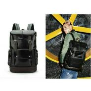 Korea Fashion PU Leather Backpack Bag