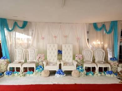 Pelamin 3 pengantin