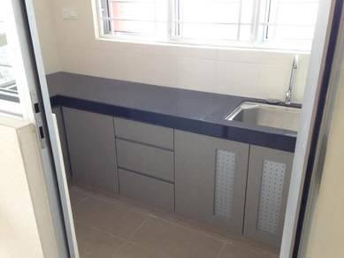 PV21 condo with kitchen cabinet. 3R2B&2R2B. Jln Genting Klang