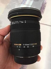 SIGMA 17-50mm F2.8 EX DC OS for NIKON