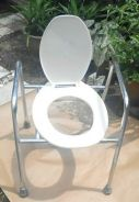 Commode Chair for the Elderly