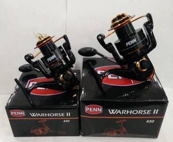 PENN WARHORSE II 2500~8500 Fishing Reel WAR HORSE