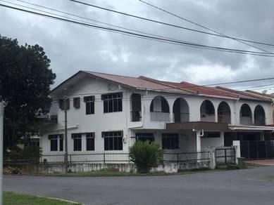 Double Storey Corner at Jalan Kumpang town