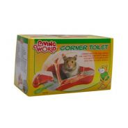61741-Living World Corner Toilet for Hamsters and