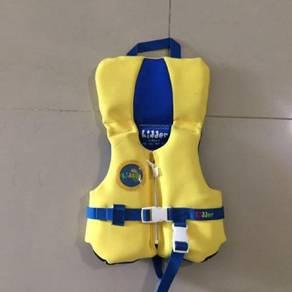Kidder Neoprene INFANT YELLOW W/ BLUE Life Vest