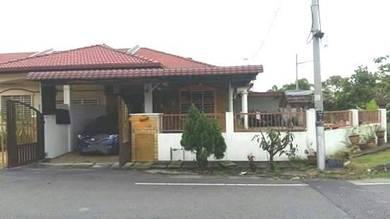 Rumah Teres 1 Tingkat Corner, Taman Seri Rantau 5, Rantau Panjang