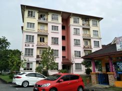 (MUST BUY) Delima Apartment Bukit Jelutong Shah Alam (with lift)