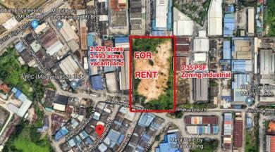 Kapar industrial land klang vacant land price negotiable 2.025 acres