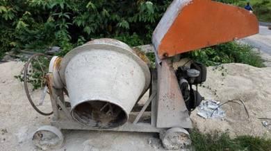 Concrete Mixer Mesin Pembancuh Simen (mecho)