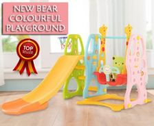 Colourful indoor or outdoor playground 566