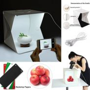 Portable Mini Studio 40cm LED Light Room 4Color