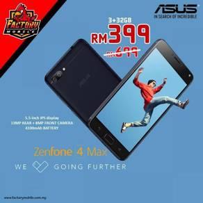 Promo Asus Zenfone 4 Max [ 3+32gb ] New Myset