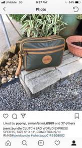 Clutch bag world express sport