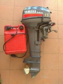 Enjin yamaha 15hp