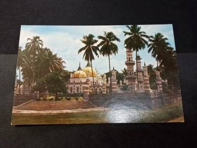 Antik Postcard Malay Mosque 1950s PC 2153