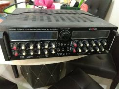 Digital Stereo Echo Mixing Amplifier AV-7076USB