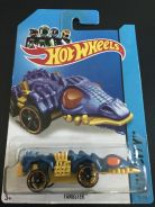 Hot Wheels FANGSTER 2014 Treasure Hunt Series
