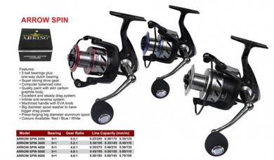AJIKING ARROW SPIN 2000 - 6000 Fishing Reel
