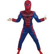 Spiderman Muscle Costume Pretend Play For kids