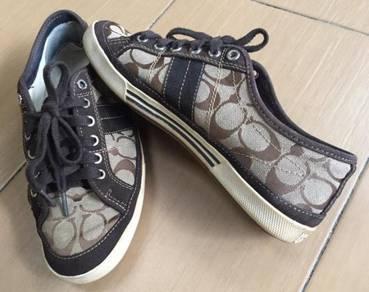 Coach shoes brown Colour Original