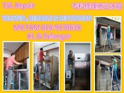 Repair Peti Sejuk Chiller Specialist MR Tam