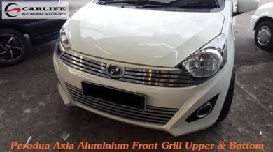Perodua Axia G Spec Aluminium Front Grill Full Set
