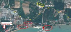 Agriculture Land for rent, opposite Lexis Hibiscus Port Dickson