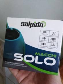 Salpido Macchi Solo Speaker