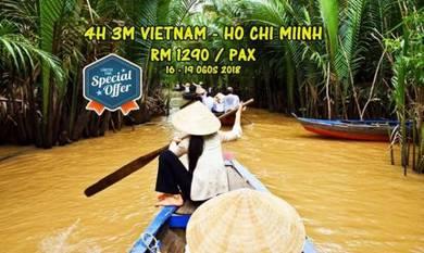 Pakej : 4h 3m ho chi minh,vietnam