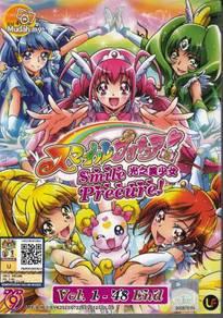 DVD ANIME SMILE PRECURE Vol.1-48End Pretty Cure