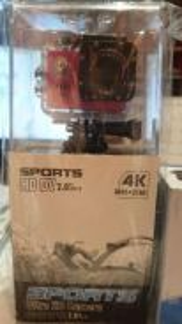 4K Sports Ultra HD Camera