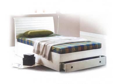 Katil kayu divan base bedframe bed perabot 420
