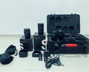 Leica S2-P, 35 & 70 Summarit & Travel Case