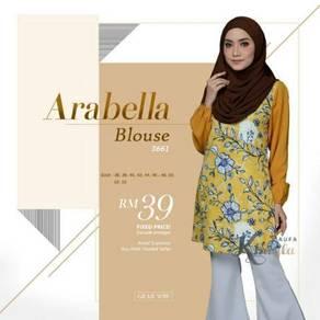 Arabella printed blouse